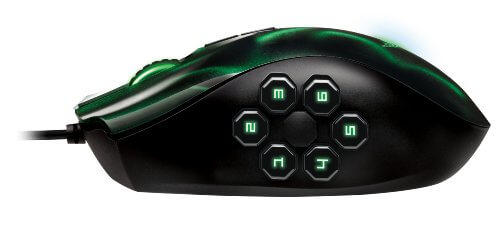 Poker Maus - Razer Naga Hex