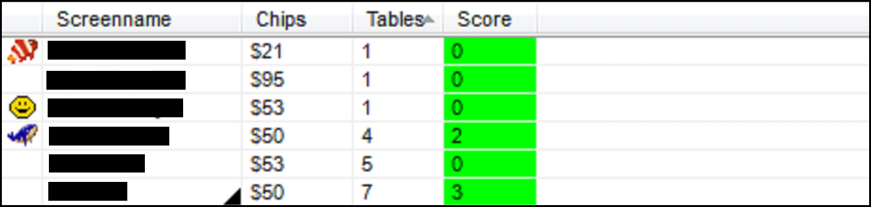 online poker echtgeld - TableScan Turbo - Popup