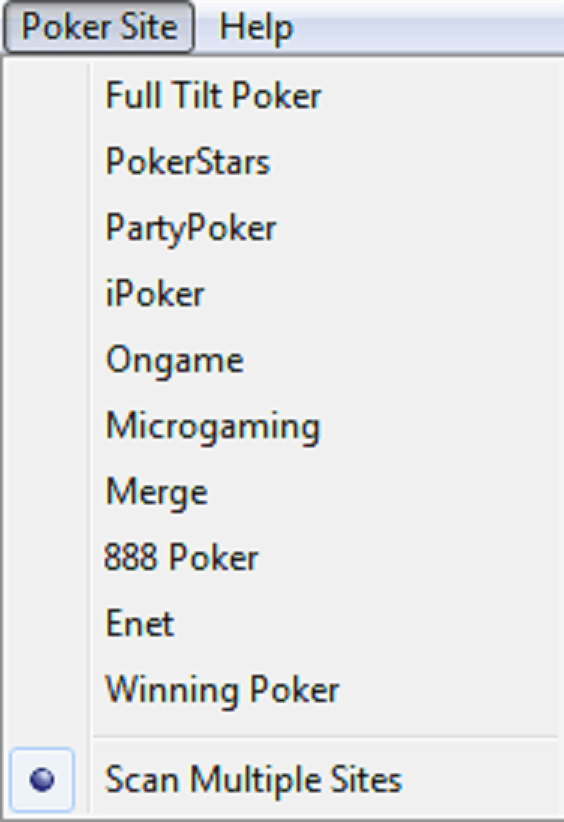 TableScan Turbo - PokerSite